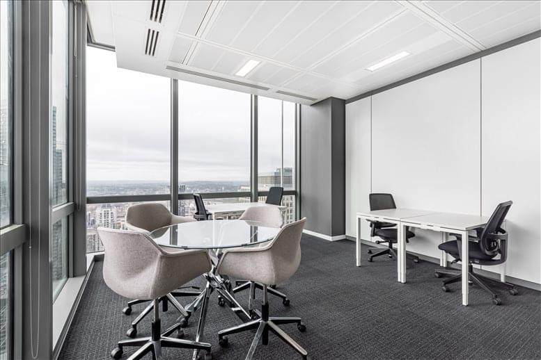 Photo of Office Space on 25 Canada Square, 33rd Fl Canary Wharf
