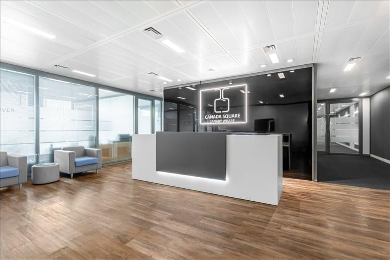 Canary Wharf Office Space for Rent on 25 Canada Square, 33rd Fl