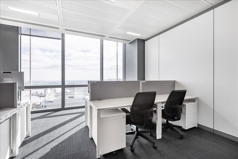 Rent Canary Wharf Office Space on 25 Canada Square, 33rd Fl