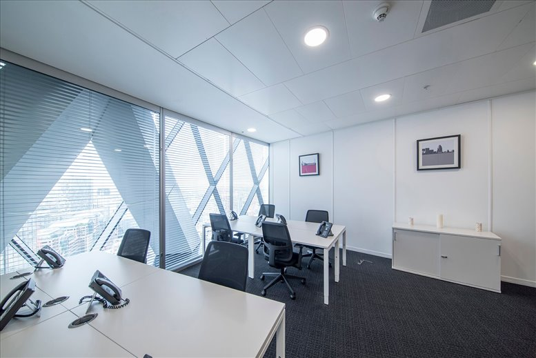 Photo of Office Space on 30 St Mary Axe, Fl 28/29, City of London The City