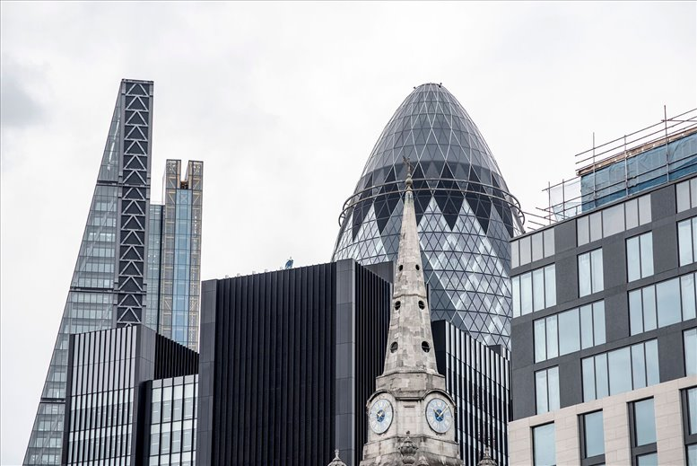 Office for Rent on 30 St Mary Axe, Fl 28/29, City of London The City