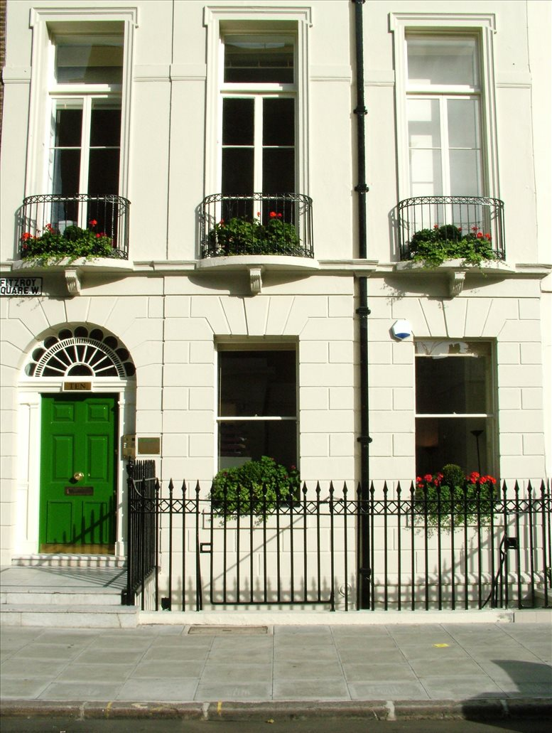 10 Fitzroy Square, West End available for companies in Fitzrovia