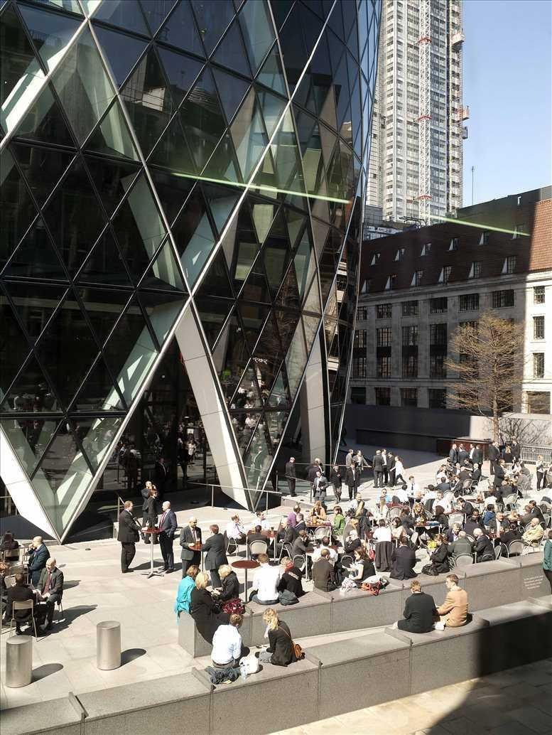 Image of Offices available in Aldgate: 1-4 Bury Street, City of London