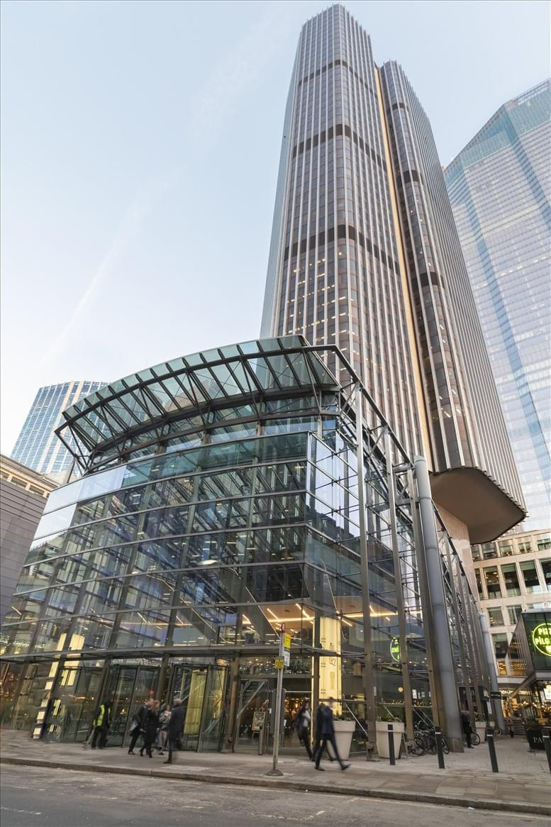 Tower 42, 25 Old Broad Street, City of London available for companies in Bishopsgate