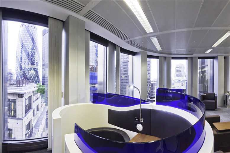 Rent Bishopsgate Office Space on Tower 42, 25 Old Broad Street, City of London