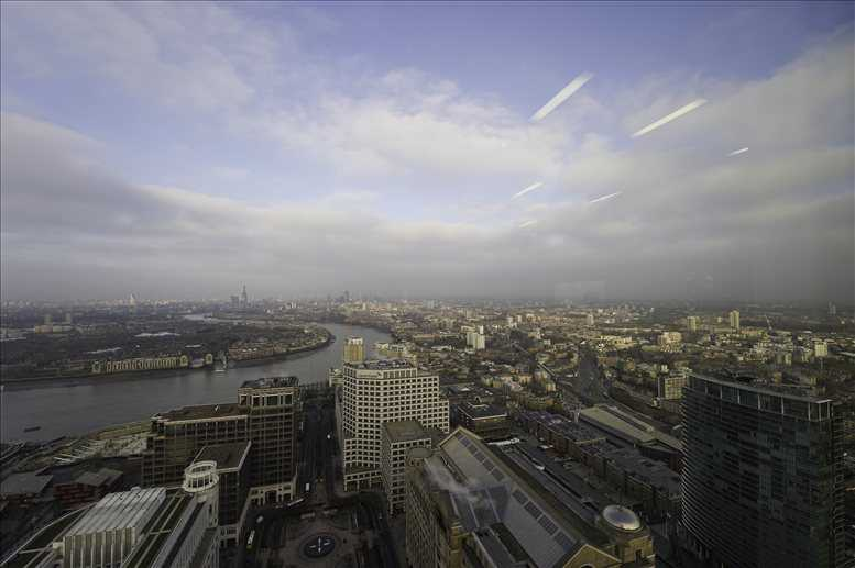 Rent Canary Wharf Office Space on One Canada Square, 37th Fl