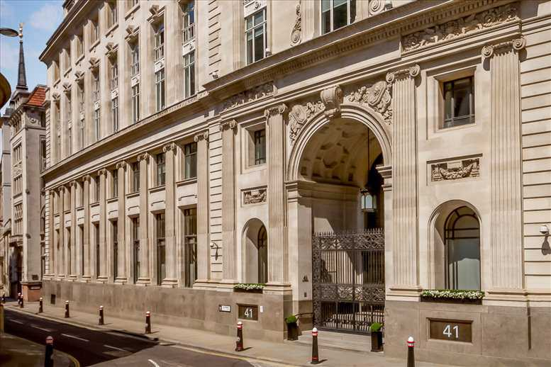 41 Lothbury, Square Mile Office Space The City
