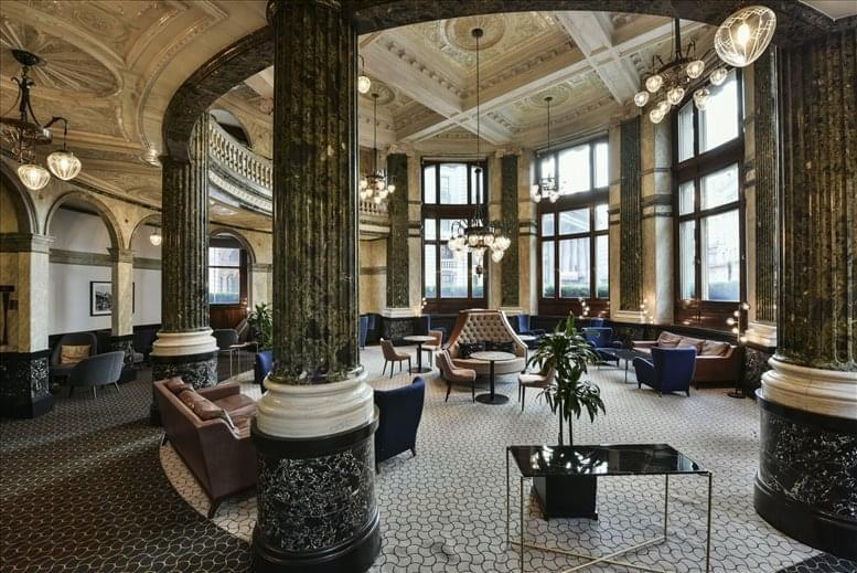 Image of Offices available in The City: No 1 Cornhill, London