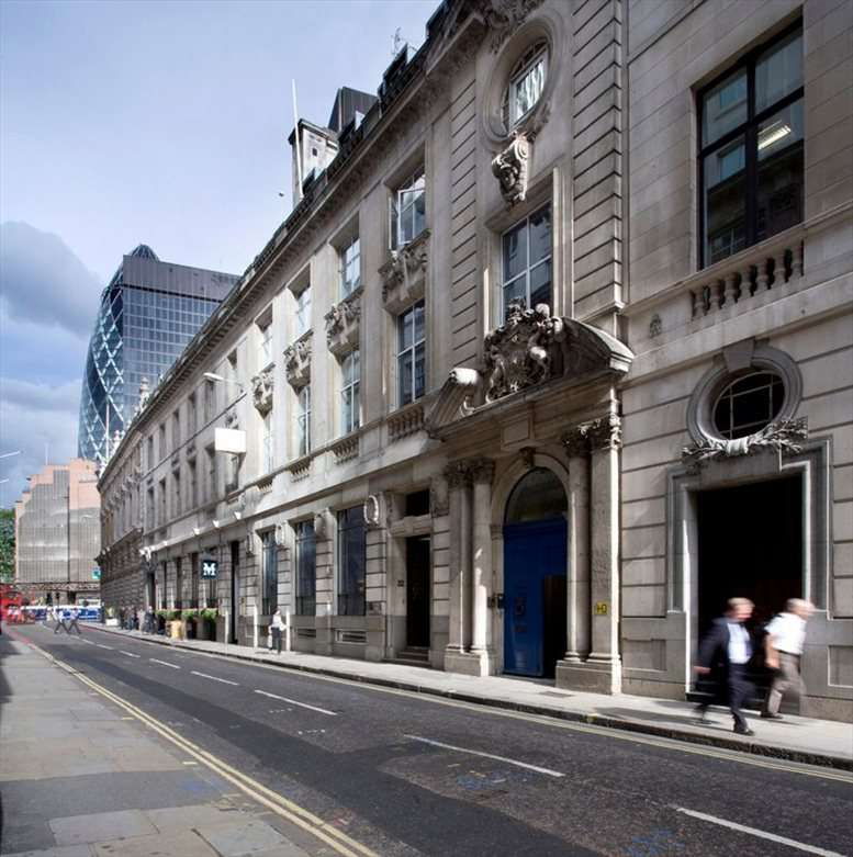 Bank Office Space for Rent on 32 Threadneedle Street, City of London
