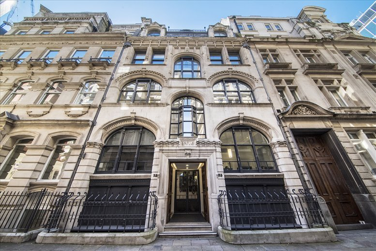 27 Austin Friars, City of London Office Space Bishopsgate