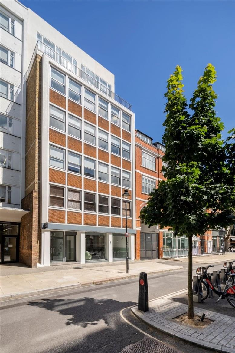 33 Alfred Place available for companies in Oxford Street