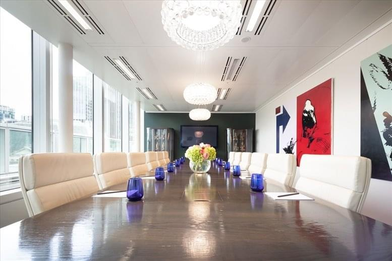 Office for Rent on 125 Old Broad Street, City of London Bank