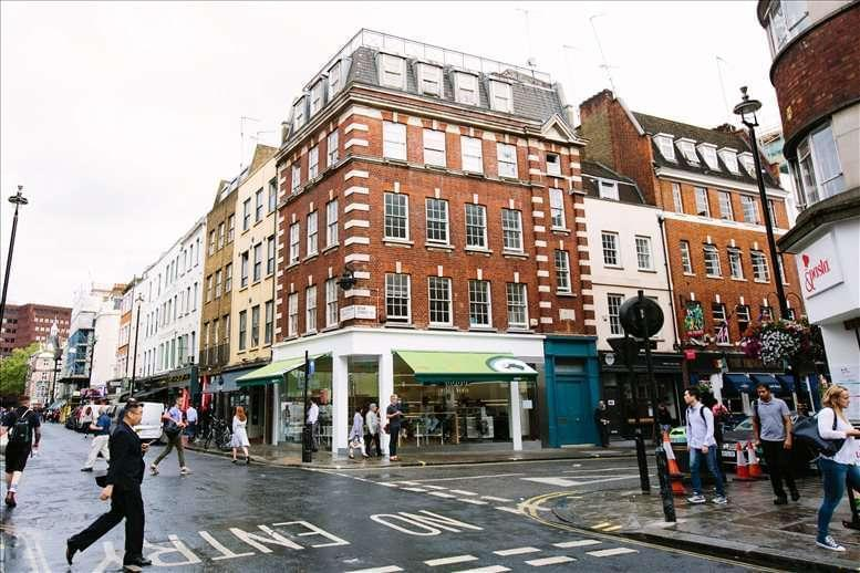 47 Dean Street, West End available for companies in Soho