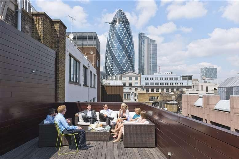 Fenchurch Street Office Space for Rent on 3 Lloyd's Avenue