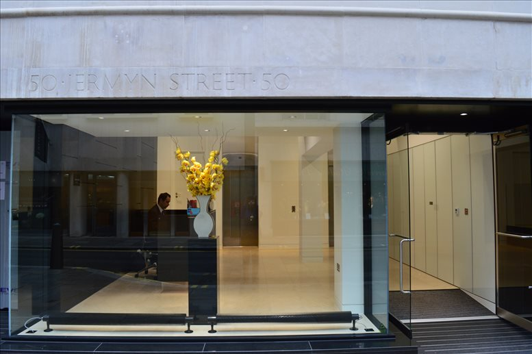 Picture of 50 Jermyn Street Office Space for available in St James's Park