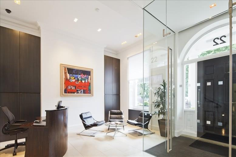22 Manchester Square, Central London Office for Rent Marylebone