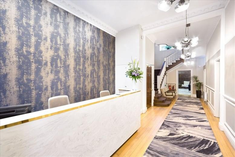 Marylebone Office Space for Rent on 4 Devonshire Street, London