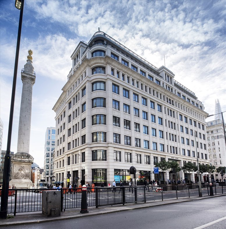Regis House, 45 King William Street, London available for companies in Monument