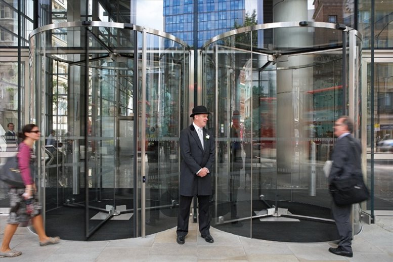Photo of Office Space available to rent on Salesforce Tower, 110 Bishopsgate, Bishopsgate
