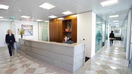Rent Canary Wharf Office Space on 40 Bank Street, 18th Fl, Heron Quays