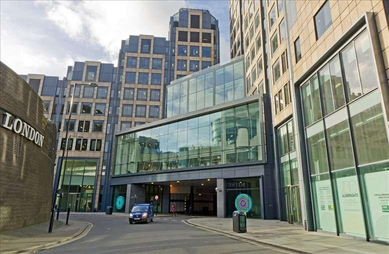 200 Aldersgate, City of London available for companies in The City