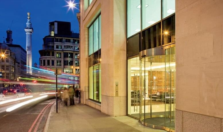 40 Gracechurch, Central London Office Space Monument