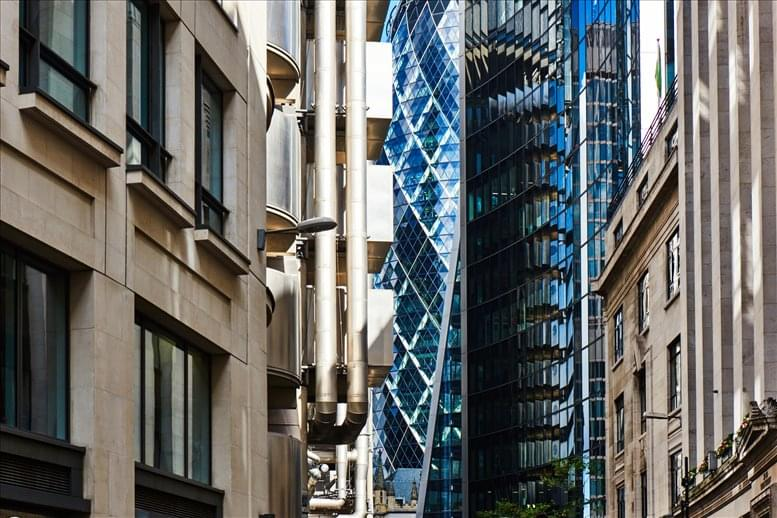 34 Lime Street Office Space The City
