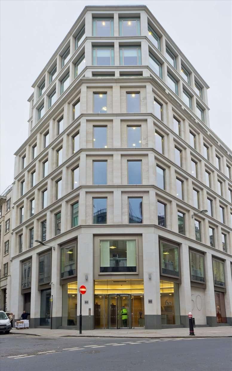 60 Gresham Street, City of London Office Space Bank