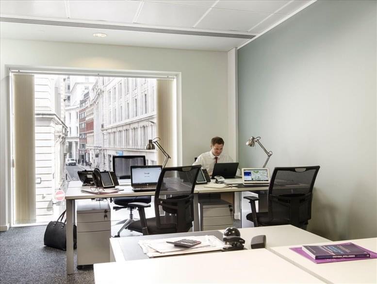 60 Gresham Street, City of London Office for Rent Bank