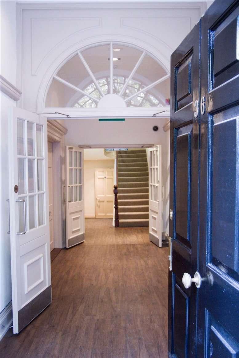 Rent Tottenham Court Road Office Space on 36 Soho Square, London