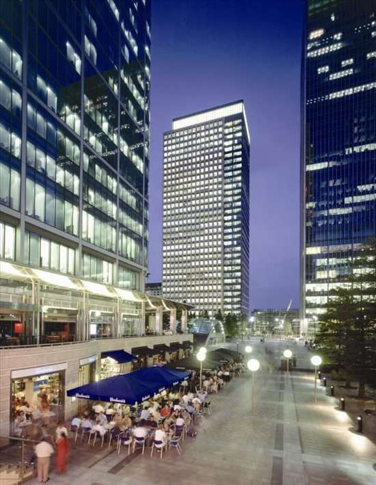 40 Bank Street, 5th & 19th Fl, Heron Quays available for companies in Canary Wharf