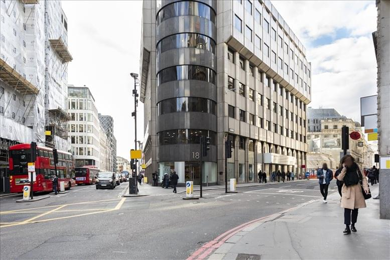 18 King William Street, London available for companies in Monument