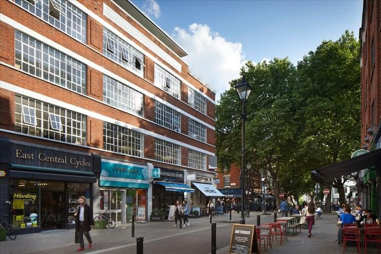 Exmouth House, 3-11 Pine Street, Central London Office Space Farringdon