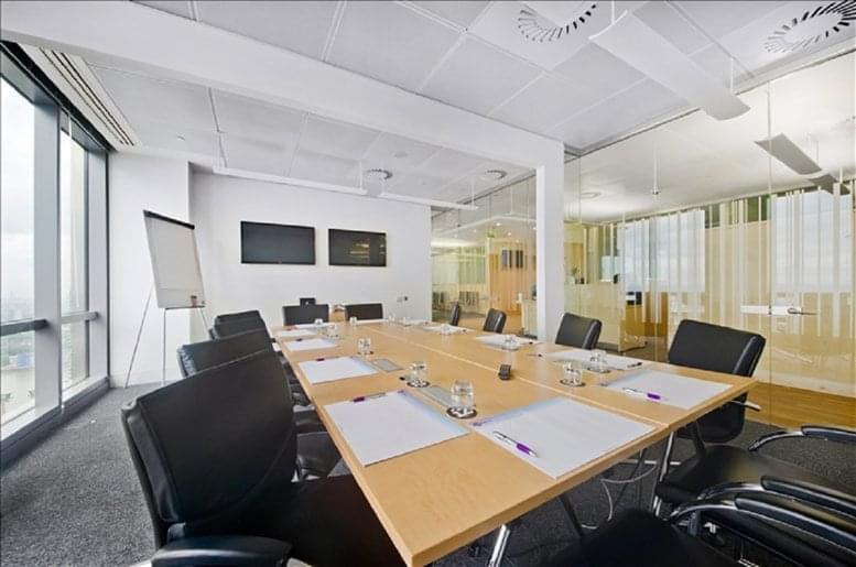 Picture of 40 Bank Street, 30th Fl, Heron Quays Office Space for available in Canary Wharf