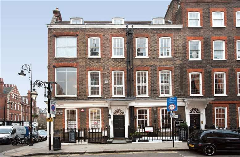 25-27 Heath Street available for companies in Hampstead