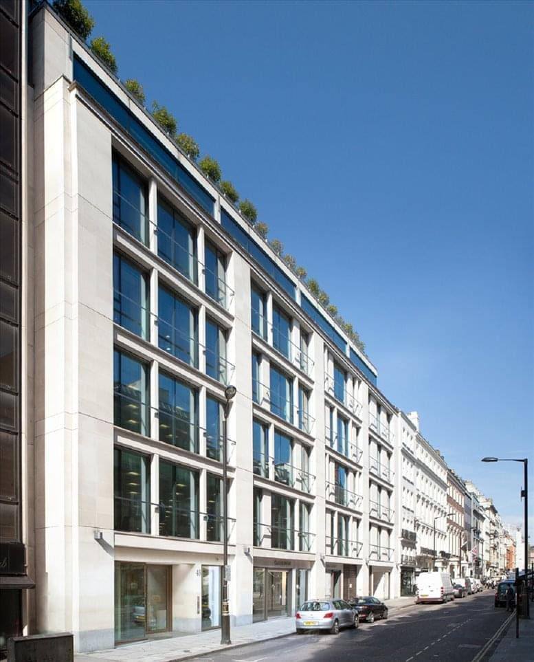 48 Dover Street available for companies in Mayfair