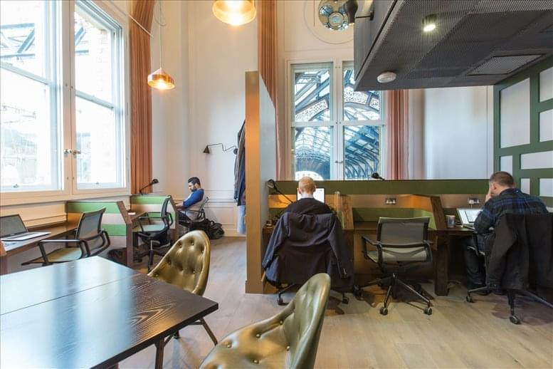 Liverpool Street Office Space for Rent on 50 Liverpool Street, City of London