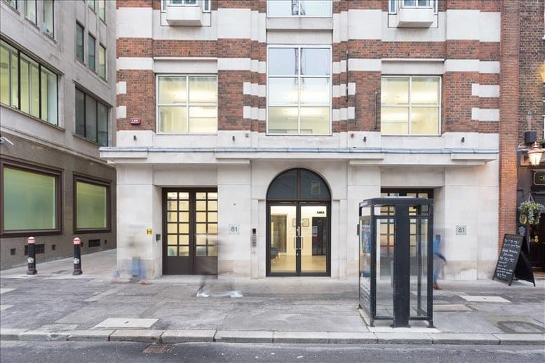 Photo of Office Space on 81 Farringdon Street, London Farringdon