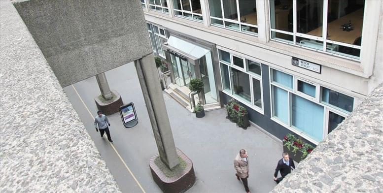 45 Beech Street, City of London Office Space Barbican