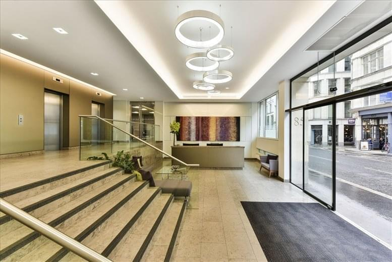 Office for Rent on 85 Gresham Street, The City The City