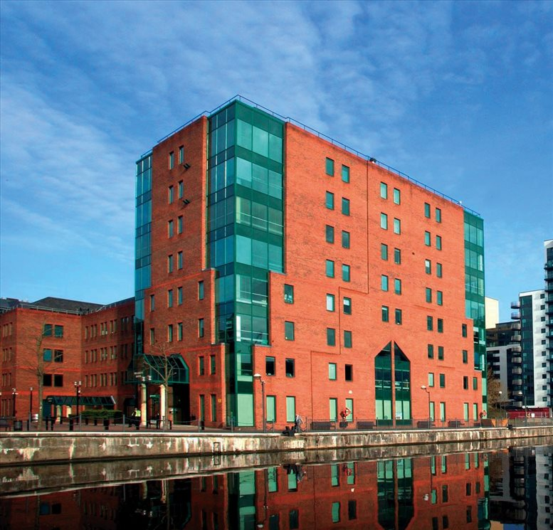 Bellerive House, 3 Muirfield Crescent, Ground & 5th Floor available for companies in Docklands