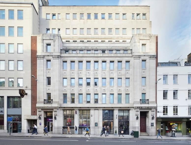 Bouverie House, 154- 60 Fleet Street, City of London available for companies in Fleet Street