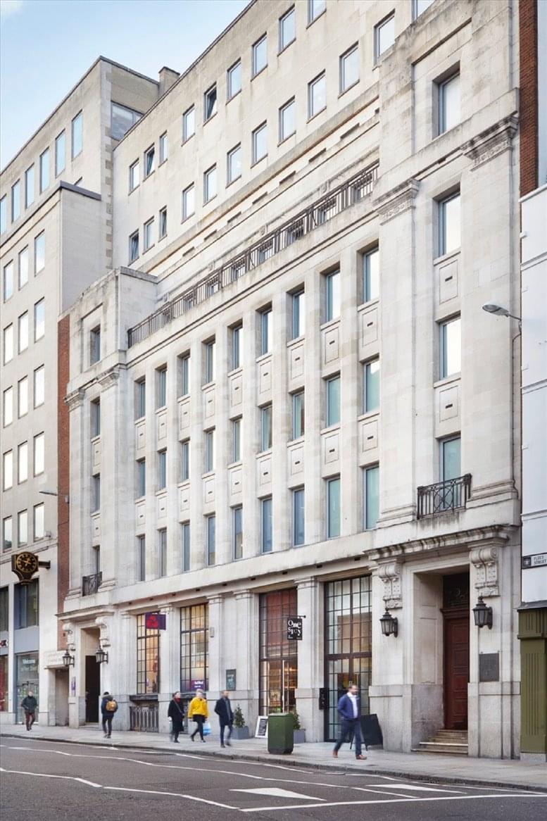 Photo of Office Space on Bouverie House, 154- 60 Fleet Street, City of London Fleet Street