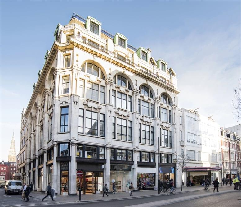 Mappin House, 4 Winsley Street, Fitzrovia available for companies in Oxford Circus