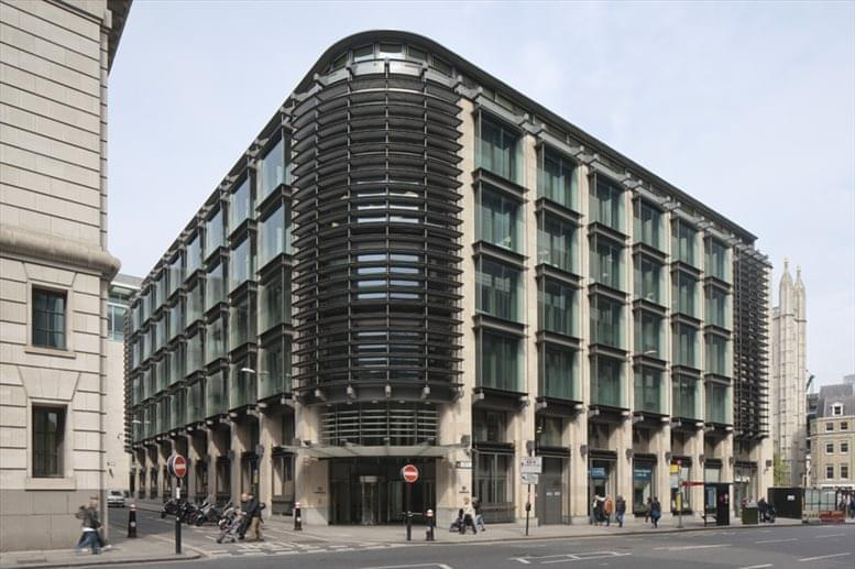 Cannon Street Office Space for Rent on 33 Cannon Street