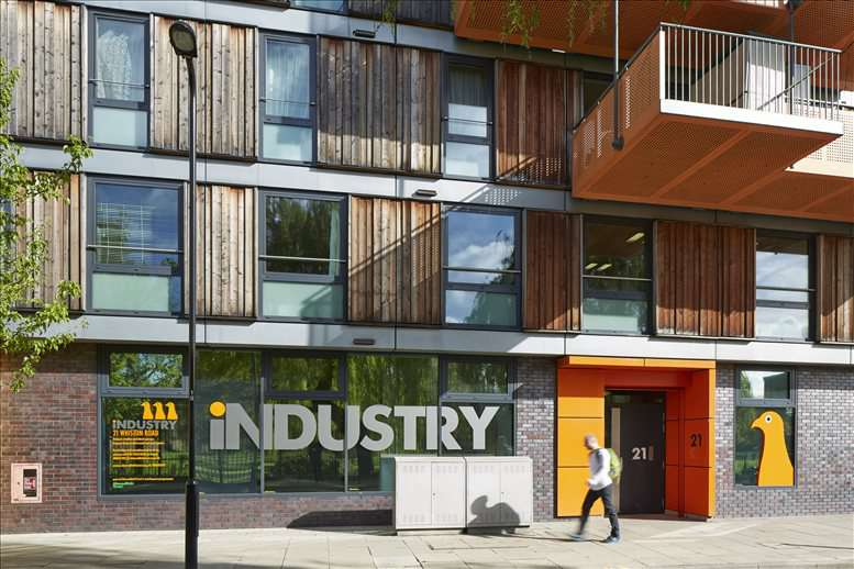 INDUSTRY, Adelaide Wharf, 21 Whiston Office Space Hoxton