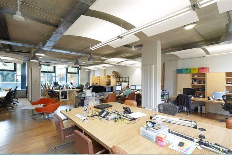 INDUSTRY, Adelaide Wharf, 21 Whiston Office for Rent Hoxton