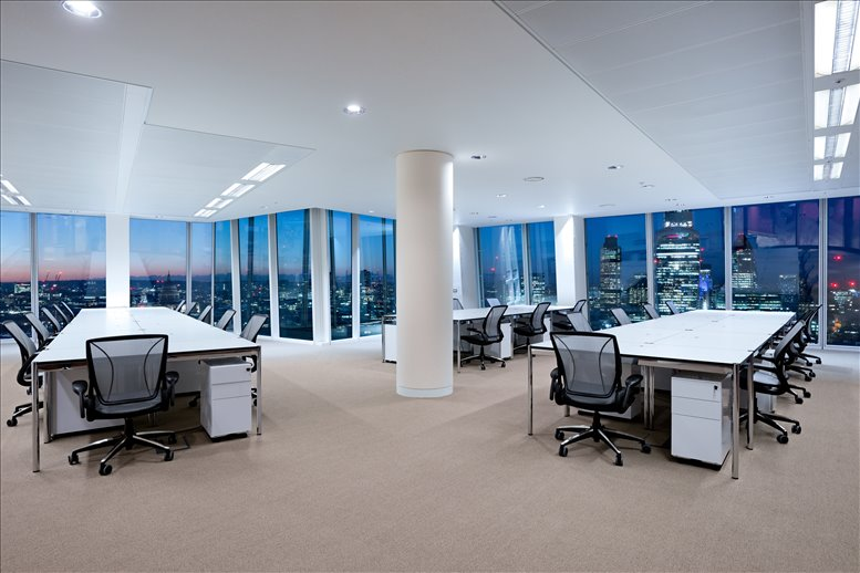 Picture of The Shard, 24&25 Fl, 32 London Bridge St Office Space for available in London Bridge