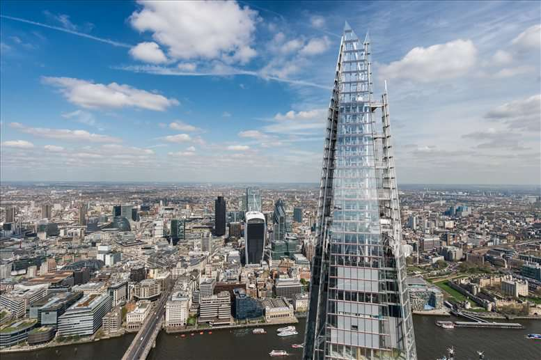 Image of Offices available in London Bridge: The Shard, 24&25 Fl, 32 London Bridge St