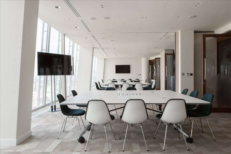London Bridge Office Space for Rent on The Shard, 24&25 Fl, 32 London Bridge St